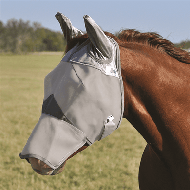 cashel crusader fly mask - long with ears