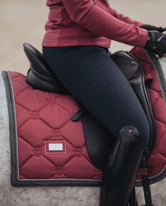 Equestrian Stockholm Dressage Pad - Winter Rose