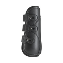 Load image into Gallery viewer, equifit eq-teq front boots black pony