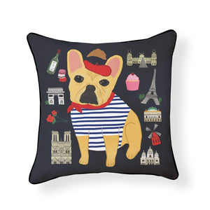 Bonjour Frenchie Pillow