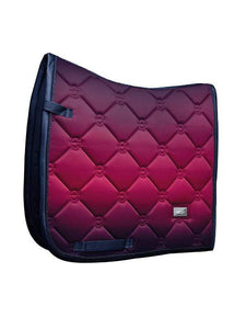 Equestrian Stockholm Dressage Pad - Faded Fushia