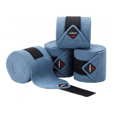 LeMieux Luxury Polo Wraps - Ice Blue