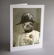 Load image into Gallery viewer, Sloth Card