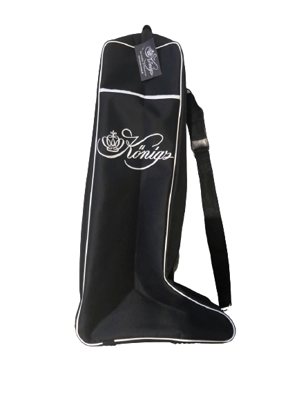 KONIG PADDED BOOT BAG WITH SHOULDER STRAP AND REAR ZIPPER