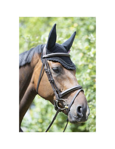 LeMieux Diamante Acoustic Fly Hood - Black