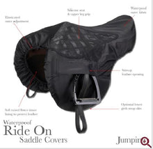 Load image into Gallery viewer, LeMieux Prokit Ride On General Purpose Saddle Cover - Black