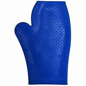 Eco Pure Rubber Grooming Mitt - Royal Blue