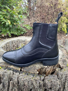 Ovation® Vionix Zip Paddock Boot - side