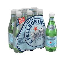 San Pellagrino Sparkling Water 6 pack (500ml)