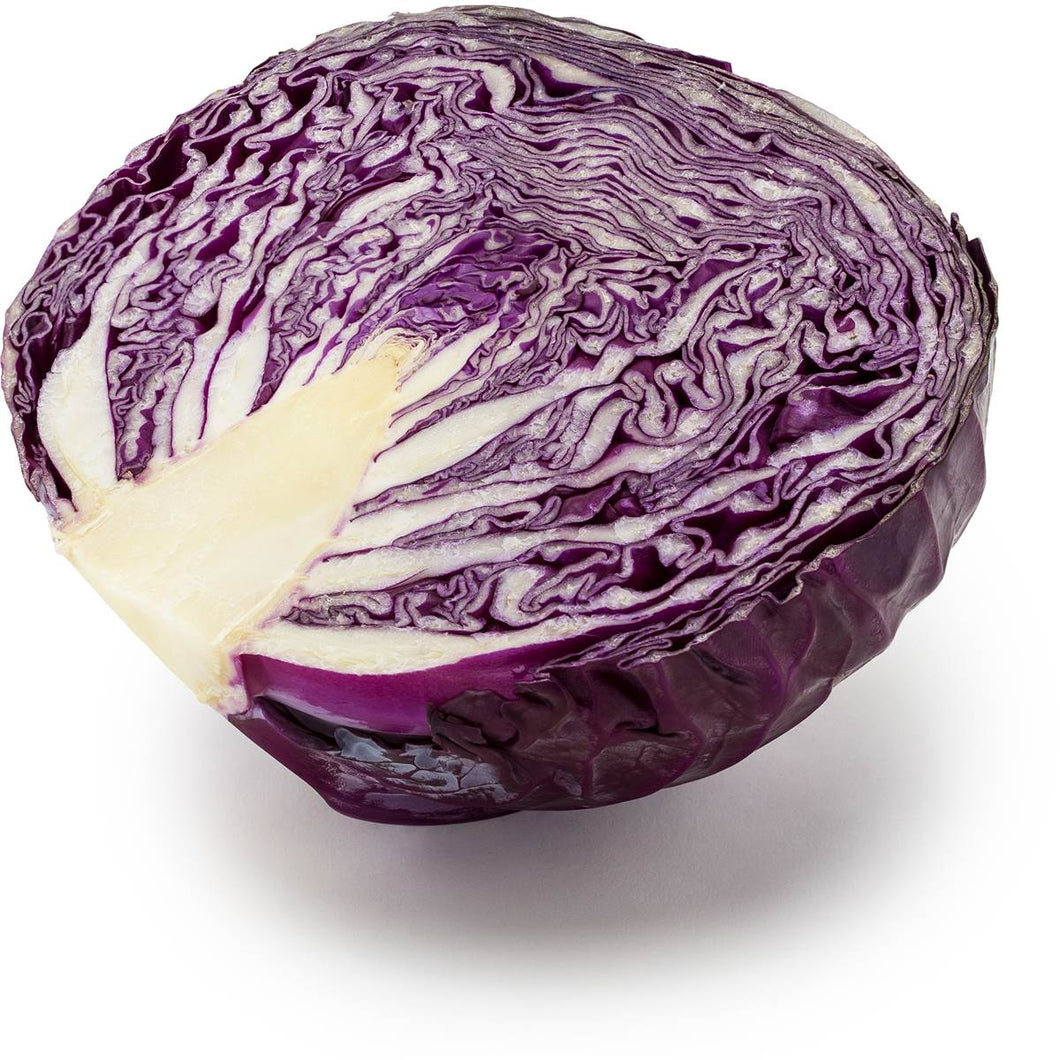 Cabbage Red Half