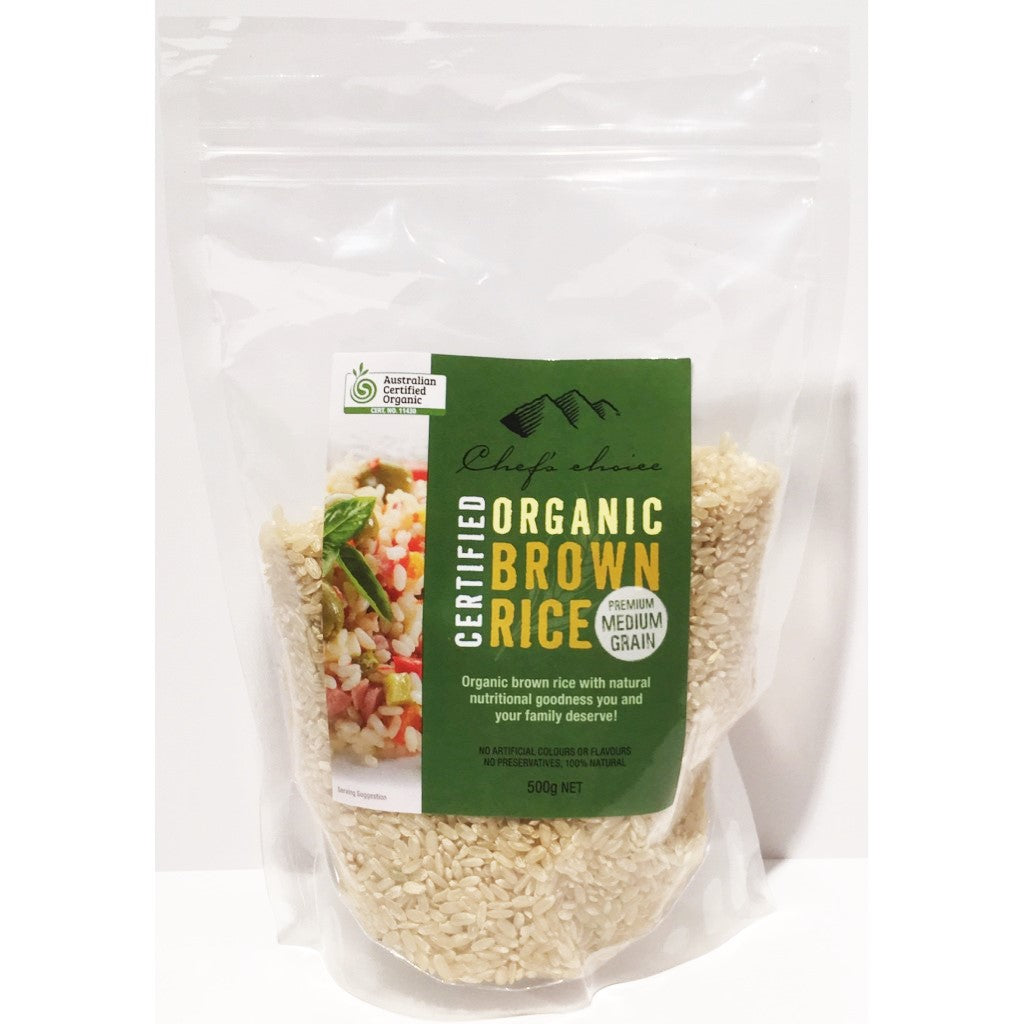 Organic Brown Rice 500g