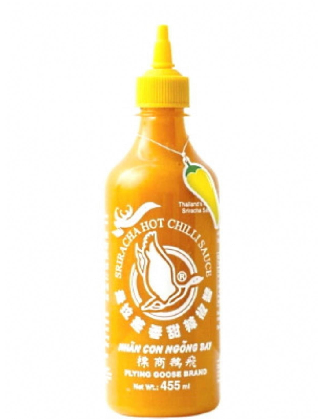 Sriracha - Yellow Chilli Flying Goose