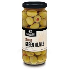 Sandhurst Stuffed Green Olives