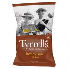 Tyrells Chips - Honey Soy