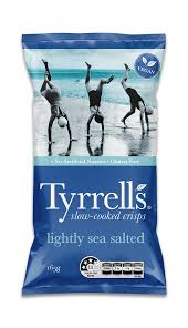 Tyrells Chips - Sea Salt