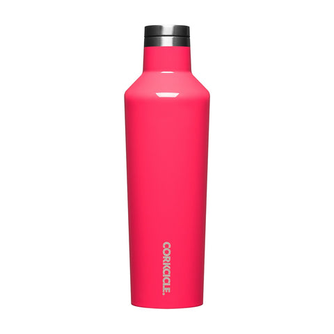 Corkcicle - Insulated Stainless Steel Bottle - 475ml - Flamingo