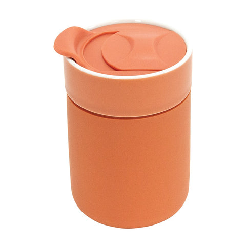 Ceramic Travel Care Cup - Terracotta
