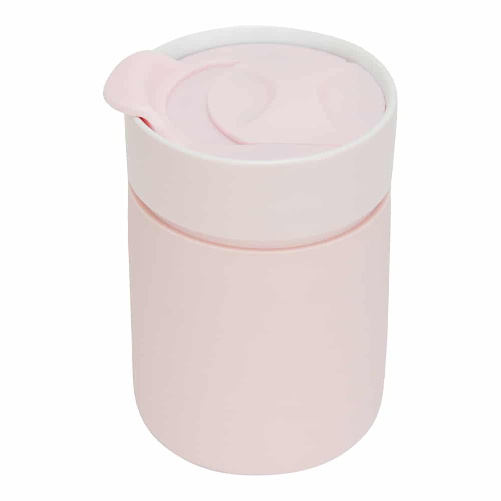 Ceramic Travel Care Cup - Blush Pink