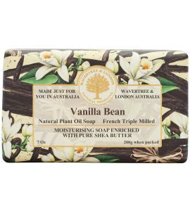 NATURAL PLANT OIL SOAP - VANILLA BEAN