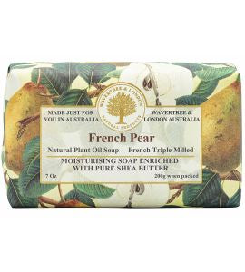 NATURAL PLANT OIL SOAP - FRENCH PEAR