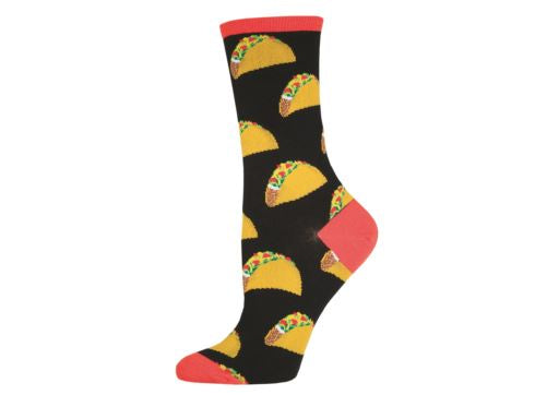 Socksmith Ladies Socks Tacos - Black