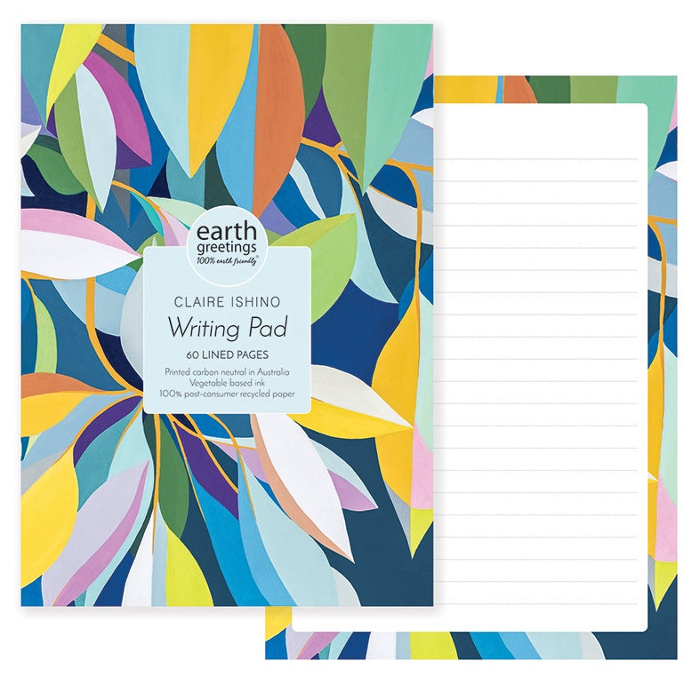 A5 Writing Pad - Moreton Bay Fig