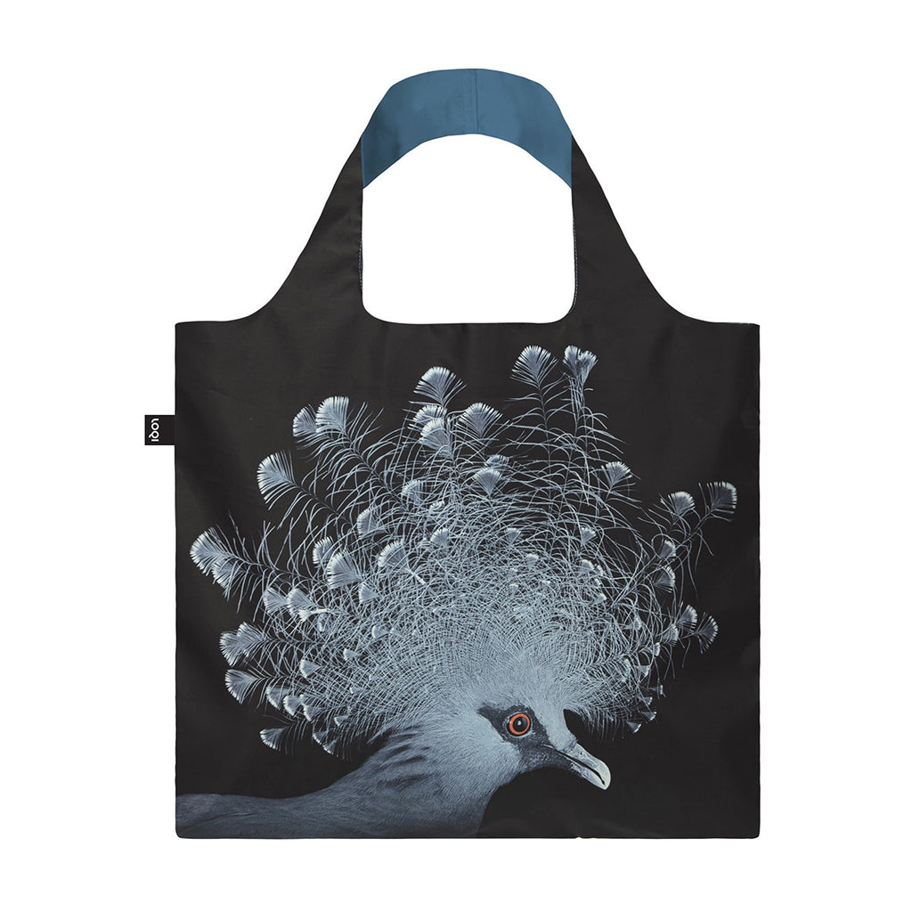 Shopping Bag - Loqi - National Geographic Collection -  Crowned Pidgeon