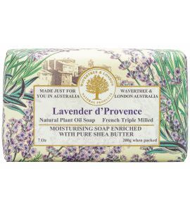 NATURAL PLANT OIL SOAP - LAVENDER D'PROVENCE