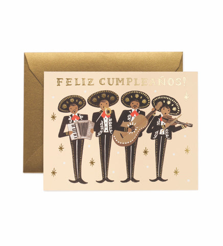 Rifle Paper Co - Single Card - Mariachi Birthday
