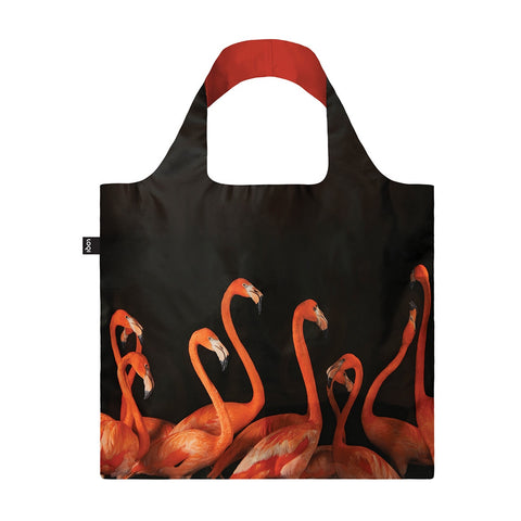 Shopping Bag - Loqi - National Geographic Collection - Flamingos