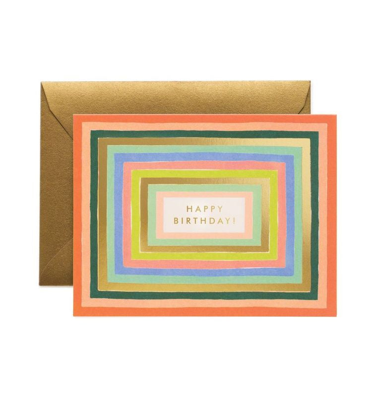 Rifle Paper Co - Single Card - Disco Birthday