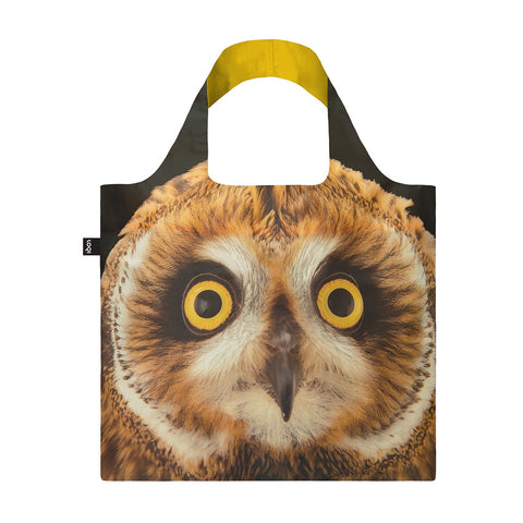 Shopping Bag - Loqi - National Geographic Collection -  Short-Eared Owl
