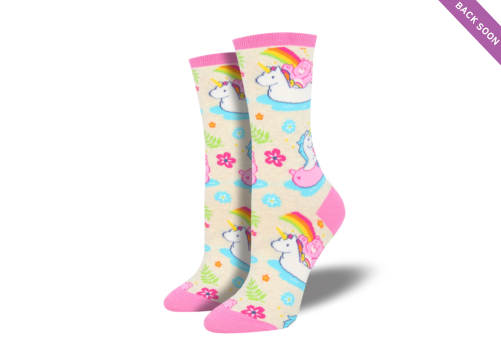 Socksmith Ladies Socks - Care Bears Believe Ivory