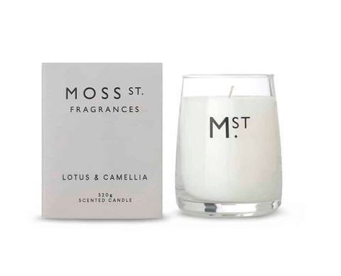 Moss St. Lemongrass Candle