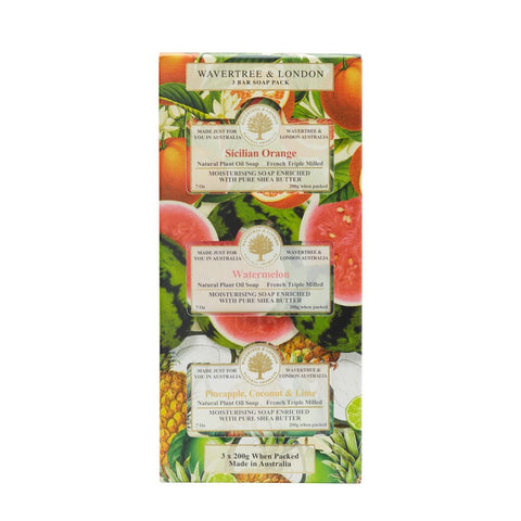 Trio Soap Gift Set - Fruit