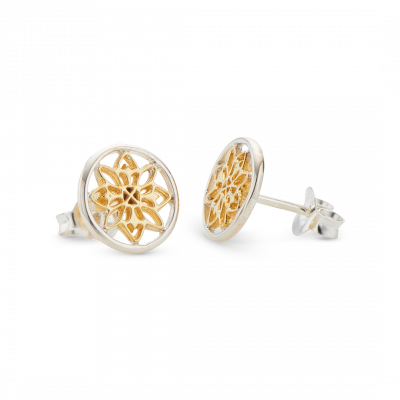 Palas - Mandala Stud Earrings