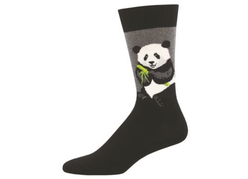 Socksmith Mens Socks Peaceful Panda - Black