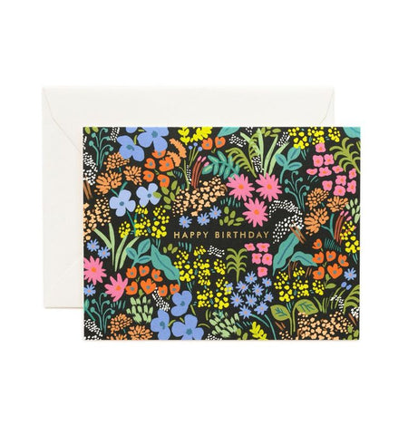 Rifle Paper Co - Single Card - Birthday Meadow