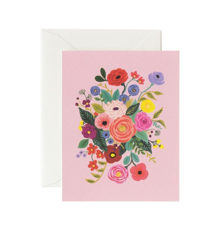 Rifle Paper Co - Single Card - Garden Party Rose