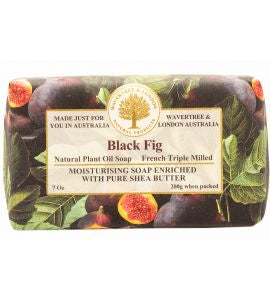 NATURAL PLANT OIL SOAP - BLACK FIG