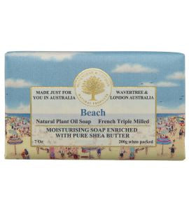 NATURAL PLANT OIL SOAP - BEACH