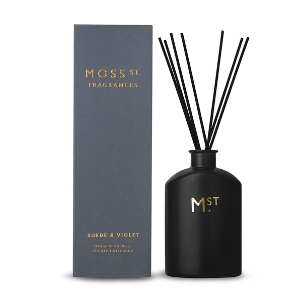 MOSS ST - DIFFUSER SUEDE & VIOLET