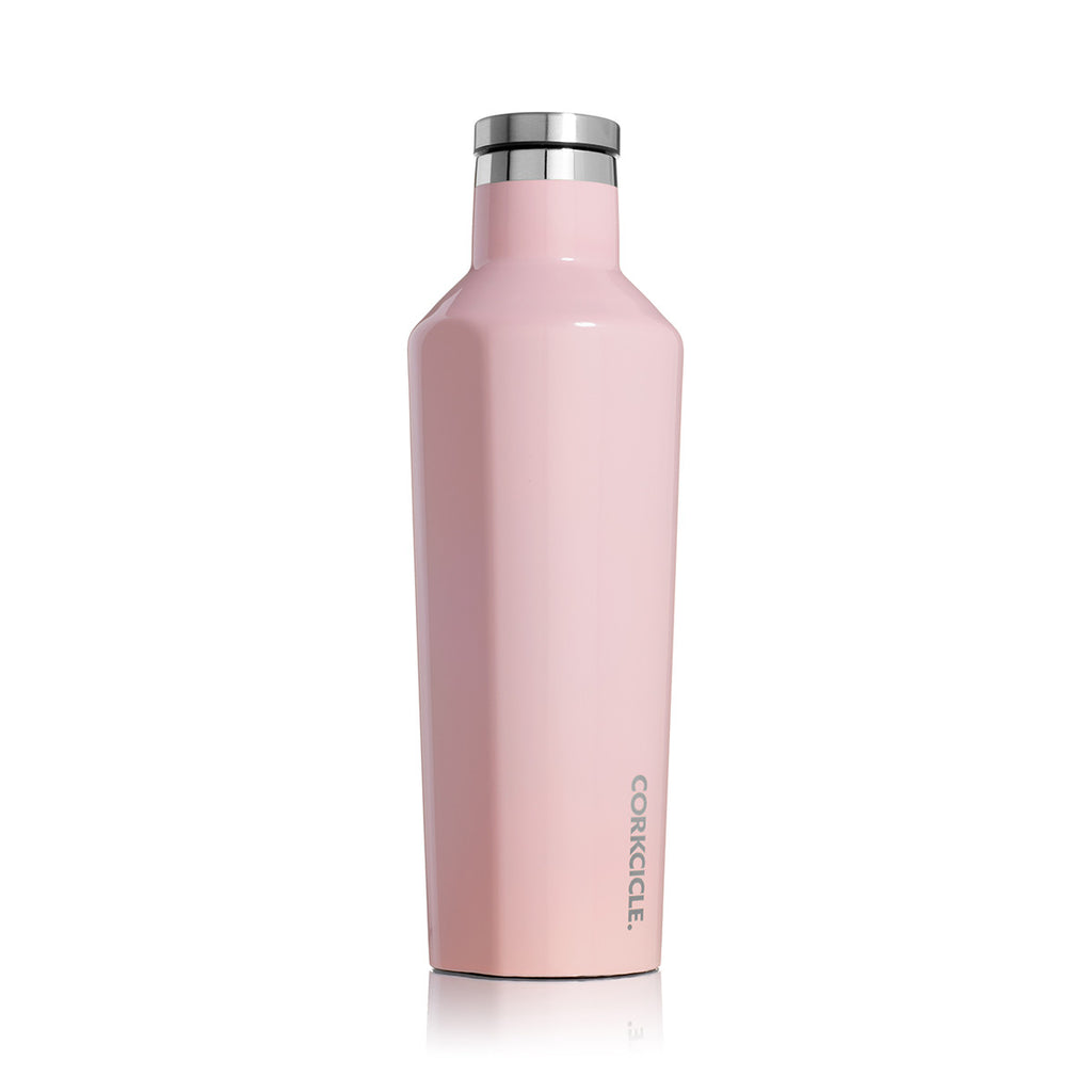 Corkcicle Insulated Stainless Steel Bottle - 475ml -  Rose Quartz