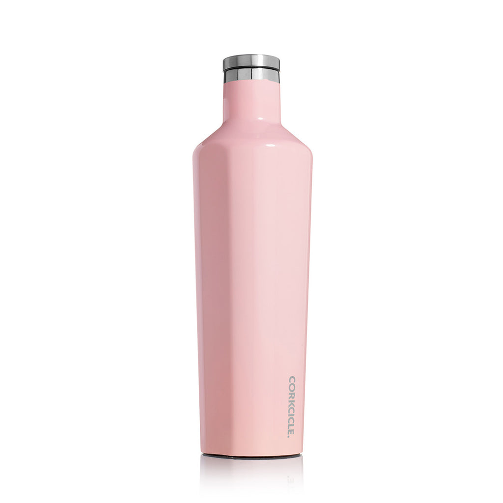 Corkcicle Insulated Stainless Steel Bottle - 750ml - Rose Quarz