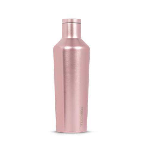 Corckcicle Insulated Stainless Steel Bottle - 475 ML -  Rose metallic