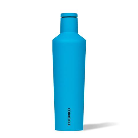 Corkcicle Insulated Stainless Steel Bottle - 475ml - Neon Blue