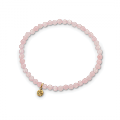 Palas Rose Quartz Gem Bracelet