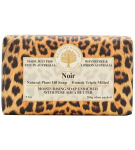 NATURAL PLANT OIL SOAP - NOIR