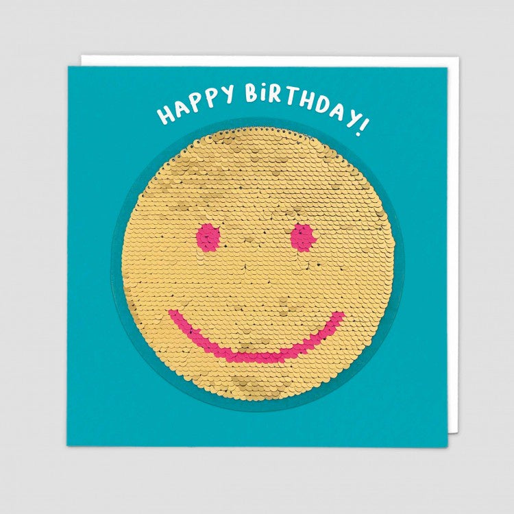 Card - Smiley - Happy Birthday