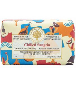 NATURAL PLANT OIL SOAP - CHILLED SANGARIA